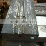 Scrap shredder parts breaker bar alloy steel casting