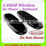 c120 For Android PC Keyboard Remote Air mouse 2.4g wireless air mouse