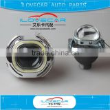 The very popular 3.0 inch H/L projector lens with Q5 square shroud for HID xenon headlight