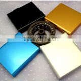 2012 square metal cigarette case from China