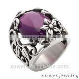 amethyst celtic stainless steel custom jewelry wholesale                                                                                                         Supplier's Choice