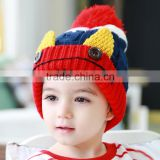 MZ3084 Cute Baby Kids Infant Winter Christmas Warm Knit Hat ear Beanie Cap