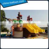inflatable castle inflatable boat yacht water slide for kid                                                                                                         Supplier's Choice