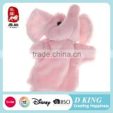 2016 wholesale Fun lovely plush animal hand puppet toy                                                                                                         Supplier's Choice