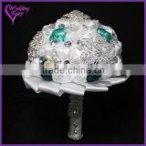 LATEST ARRIVAL Artificial Flowers Fine Design bouquet bridal wedding china supplier