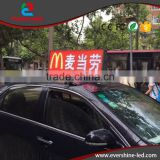 new electronic products on market p5 high resolution taxi top full color led advertising sign