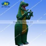 Customized LOGO inflatable giant green dragon for sale /inflatable advertisements on sales