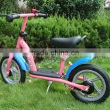 Steel Children push bicycle in PP wheel / boys balance bike