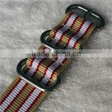 3 4 5 Rings Ballistic Nylon Zulu Watch Strap