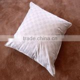 Jacquard white duck or goose down filling neck pillow