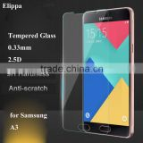 Anti Oil Anti Shake Tempered Glass for Mobile Phone Screen Protector for Samsung A3