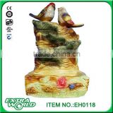 Markor style three-dimensional bird humidifier decorative ceramic crafts desktop decoration water fountain