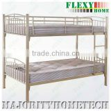 metal bunk bed (steel bunk bed (Rubberwood Post available) -- SUITABLE FOR SCHOOL BUNK BED HOTEL BUNK BED HOME BUNK BED FOR KIDS