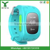 q50 gps kids security watch big button sos emergency cell phone