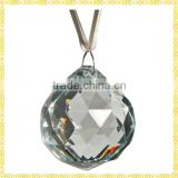 Clear Hanging Crystal Ball Christmas Ornament For New Year Decoration