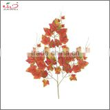 china supplier garden decoration fabric artificial grape branches and leaves