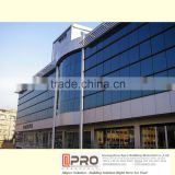 Aluminium glass facade for commercial building