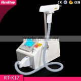 Best selling products portable 1064nm 532nm black doll 3 heads q switch nd yag laser rejuvi tattoo removal price