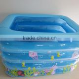 inflatable pool for kids PVC blue cartoon baby bath tub best selling products