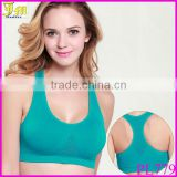 New Hot Sexy Womens Padded Gym Yoga Dance Fitness Sports Vest Bra Running Crop Top Black