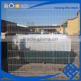 Hot sale powder/pvc coating with V bends garden wire mesh fence (china direct supplier/factory)