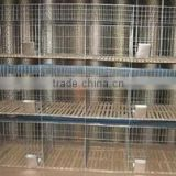 high efficiency modern-styled cheap indoor rabbit cages with great price stainless steel cage