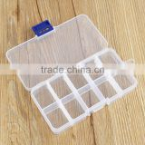 Practical DIY Tools Packaging Box 10 Grids Slots Electronic Spare Part Removable Storage Box