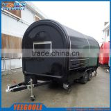 2017 hot sales best quality used food trailer food trailer for sale petrol tricycle food trailer YG-LSS-02