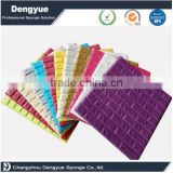 Professional factory manufacture classic style multi color option brick stone 3d wallpaper self adhesive