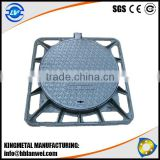 Sewer Ductile Cast Iron Manhole Cover With Frame Foundry