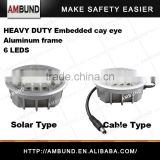 Heavy duty Embedded road stud - Solar and Cable type