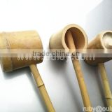bamboo water ladles/water bailers/ pouring ladles with rest