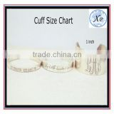 cuffs wholesale charm Actual handwriting jewelry personalized memory write bracelet