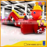 AOQI factory price amusement park inflatable playing tunnel for kids
