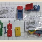 diy mini toy truck plastic promotion gift