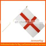 England waving hand stick flag