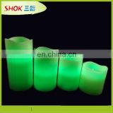 led lights candle wax without flame remote control