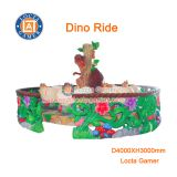 Zhongshan amusement park Outdoor Playground Tea cup, coffee cup, carnival ride 12 Seat Dino Ride Kiddie Rides