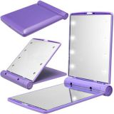 New Style LED Two-fold Mirror Portable Compact Makeup Mirror