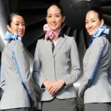 Custom Design Aviation Cabincrew Air Hostess Uniform Fabric