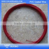 Right Choice!!! 12 Gauge Pvc Coated Wire, Pvc Coated Steel Wire Rope, Pvc Coated Copper Wire