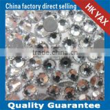 T0505 Clear Cut crystal rhinestone hot sale,hotfix rhinestone crystal flatback,crystal rhinestone strass accessories for hats