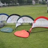 The latest mini pop up children toy soccer goal