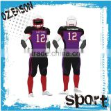 Wholesale custom blank american football jerseys/uniforms                                                                         Quality Choice