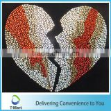 Bling bling bulk rhinestone heat transfer sticker