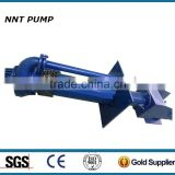 Electric Submersible slurry pump with bottom agitator
