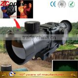 monocular night vision boating use night vision weapon sight zk1-50-6-m military with green