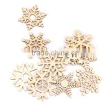 2015 hot sell handmade Christmas Wooden Snowflake Ornaments / Decor / Embellishments in China