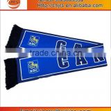 world cup satin custom promotion Canada flag scarf