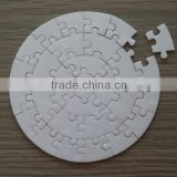 sublimation blank paper material real jigsaw puzzles